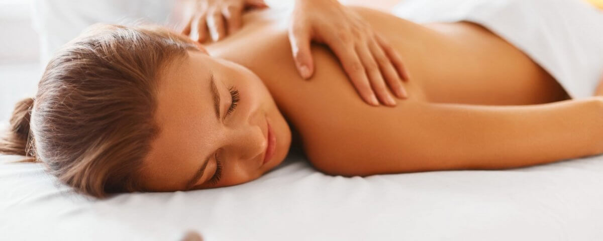 massage therapy client